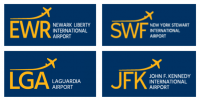 Port Authority Newark, Stewart, Laguardia, JFK Airport Logo