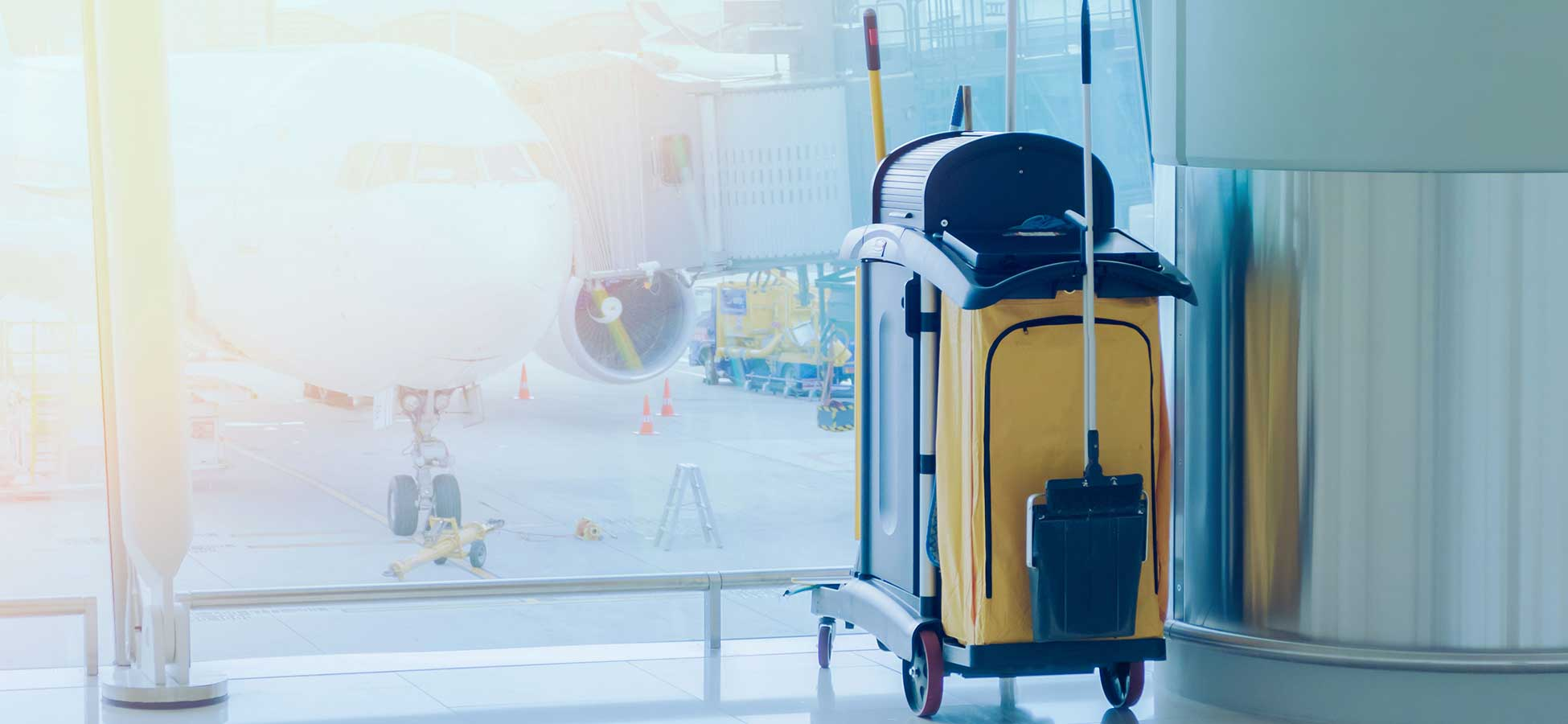A Clean Sweep - Intelligent Sanitation Management Paves the Way for Safer Air Travel